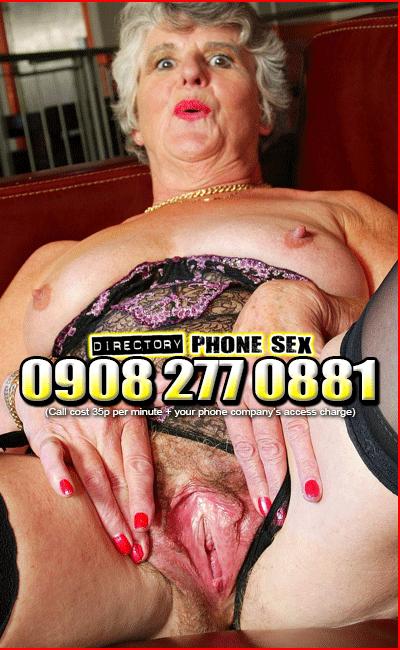 Granny Bucket Cunts Phone Sex